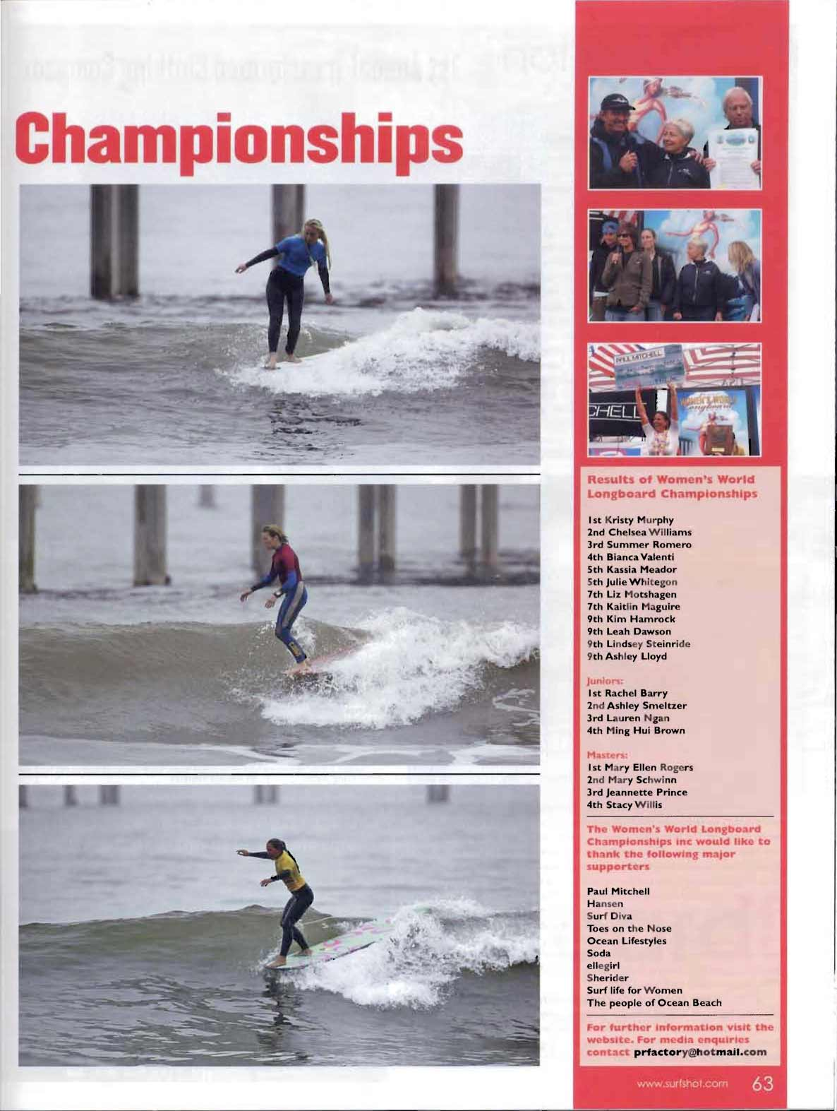 Women's World Longboard Championships